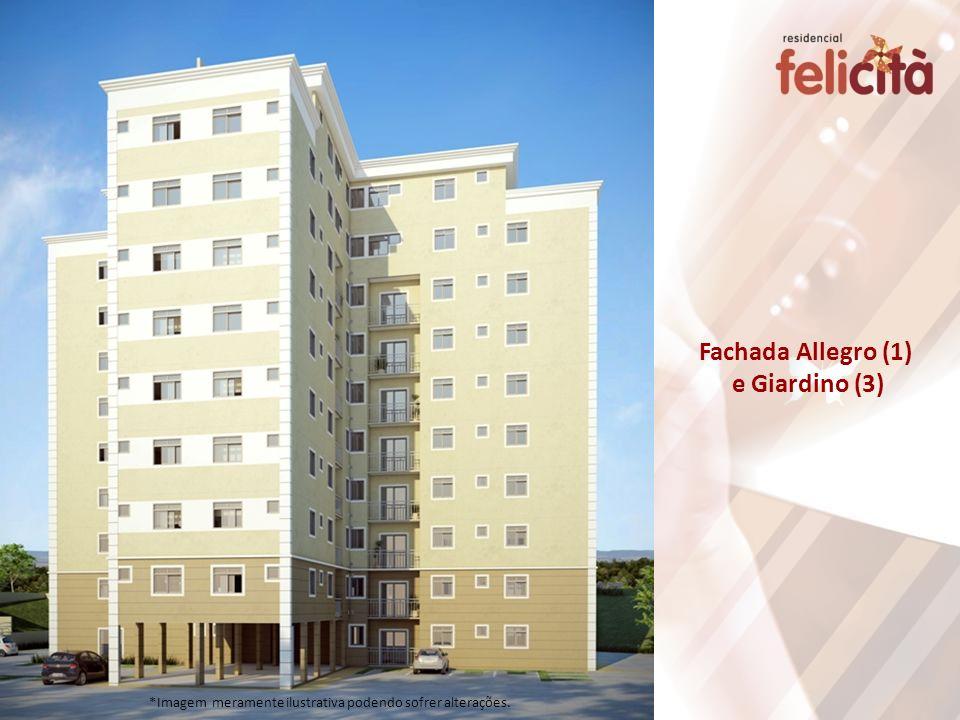 Fachada Allegro (1) e Giardino (3)