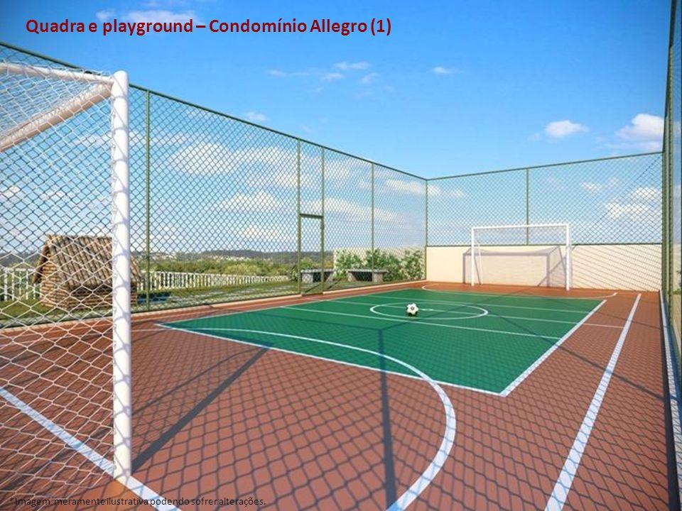 Quadra e playground – Condomínio Allegro (1)