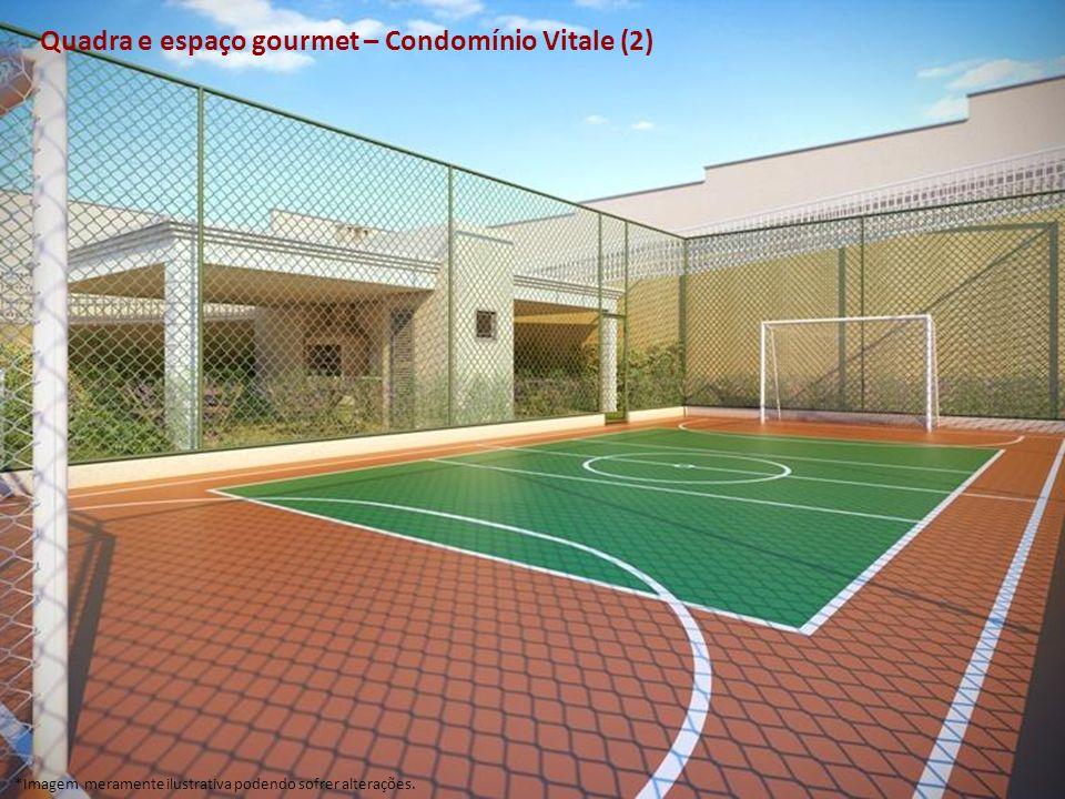 Quadra e espaço gourmet – Condomínio Vitale (2)