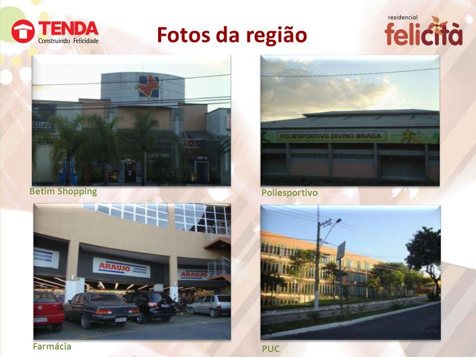 Fotos da região Betim Shopping Poliesportivo Farmácia PUC
