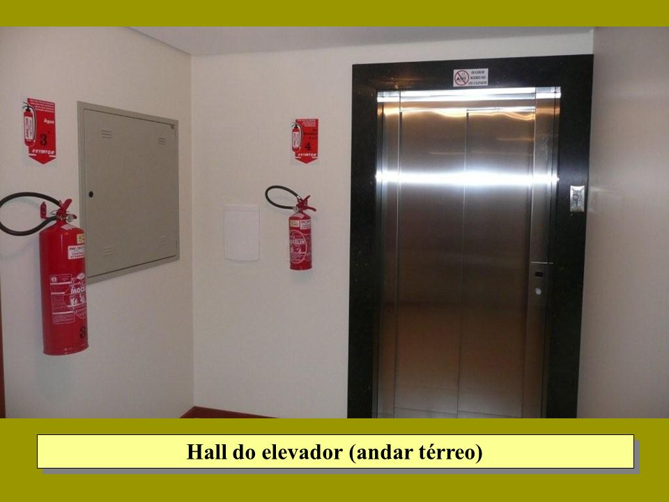 Hall do elevador (andar térreo)