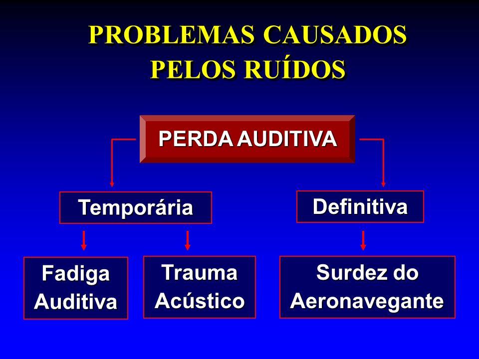 PROBLEMAS CAUSADOS PELOS RUÍDOS