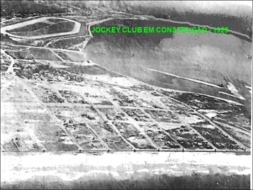 JOCKEY CLUB EM CONSTRUÇÃO - 1929