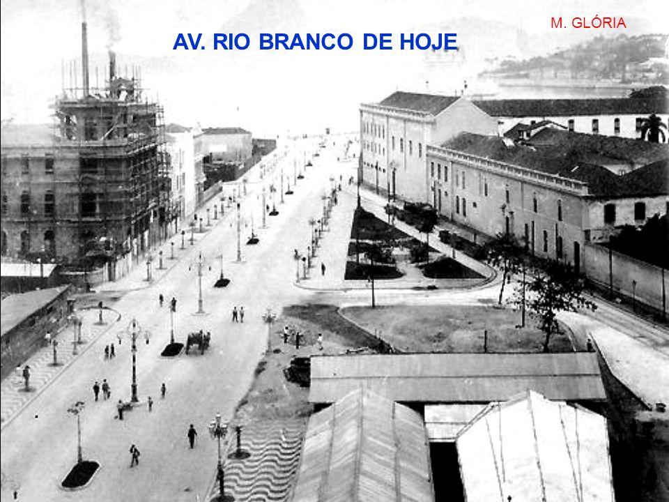 M. GLÓRIA AV. RIO BRANCO DE HOJE