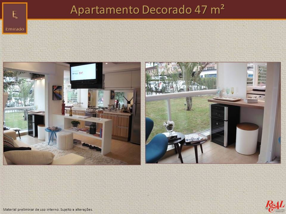 Apartamento Decorado 47 m²
