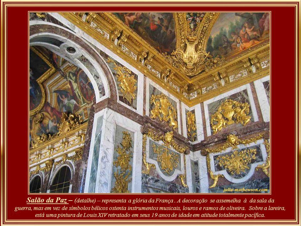 Salão da Paz – (detalhe) – representa a glória da França
