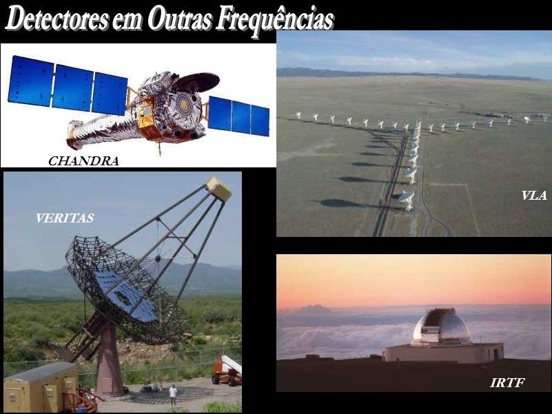 Detectores em Outras Frequências