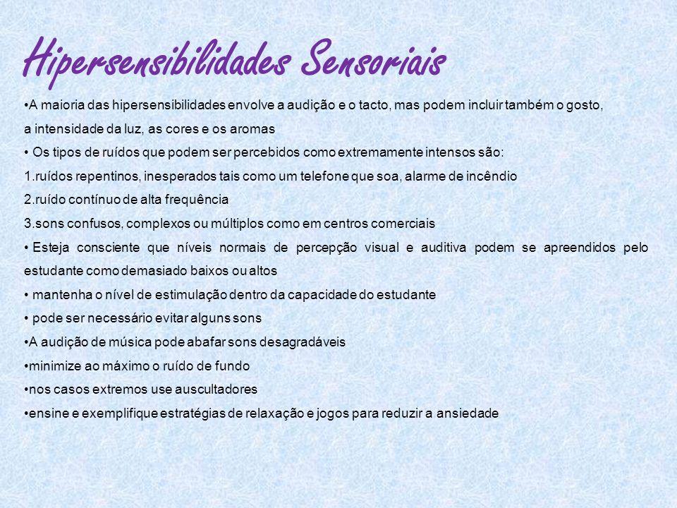 Hipersensibilidades Sensoriais