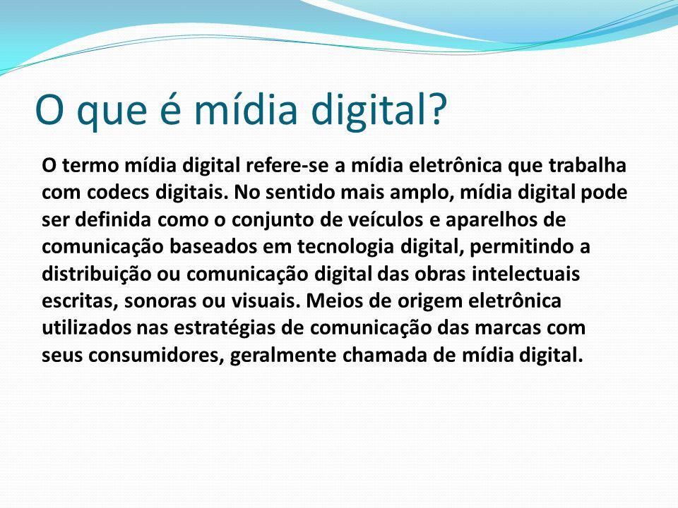 O que é mídia digital