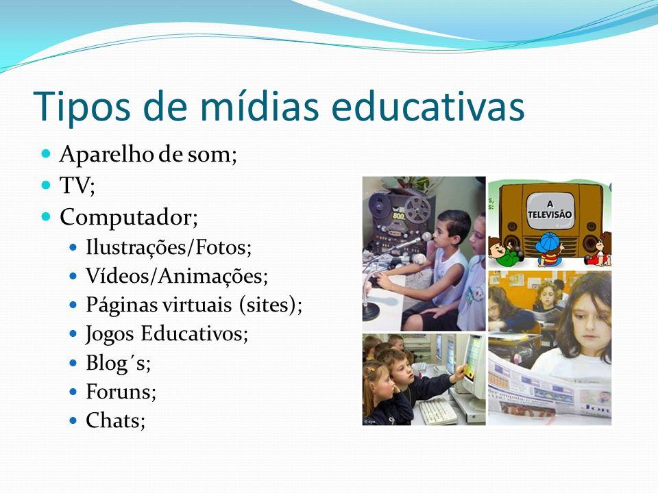 Tipos de mídias educativas