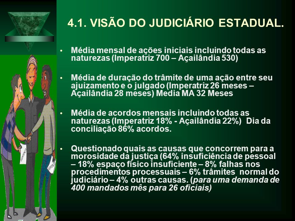 4.1. VISÃO DO JUDICIÁRIO ESTADUAL.