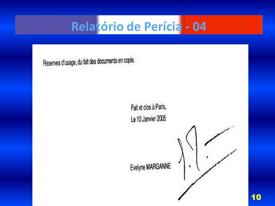 Relatório de Perícia - 04