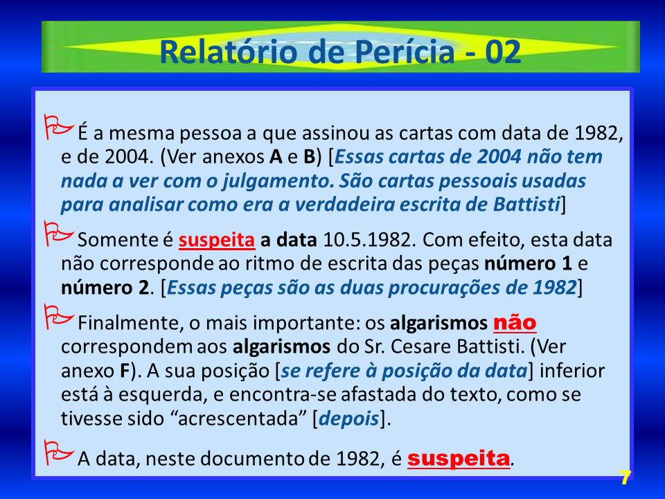 Relatório de Perícia - 02