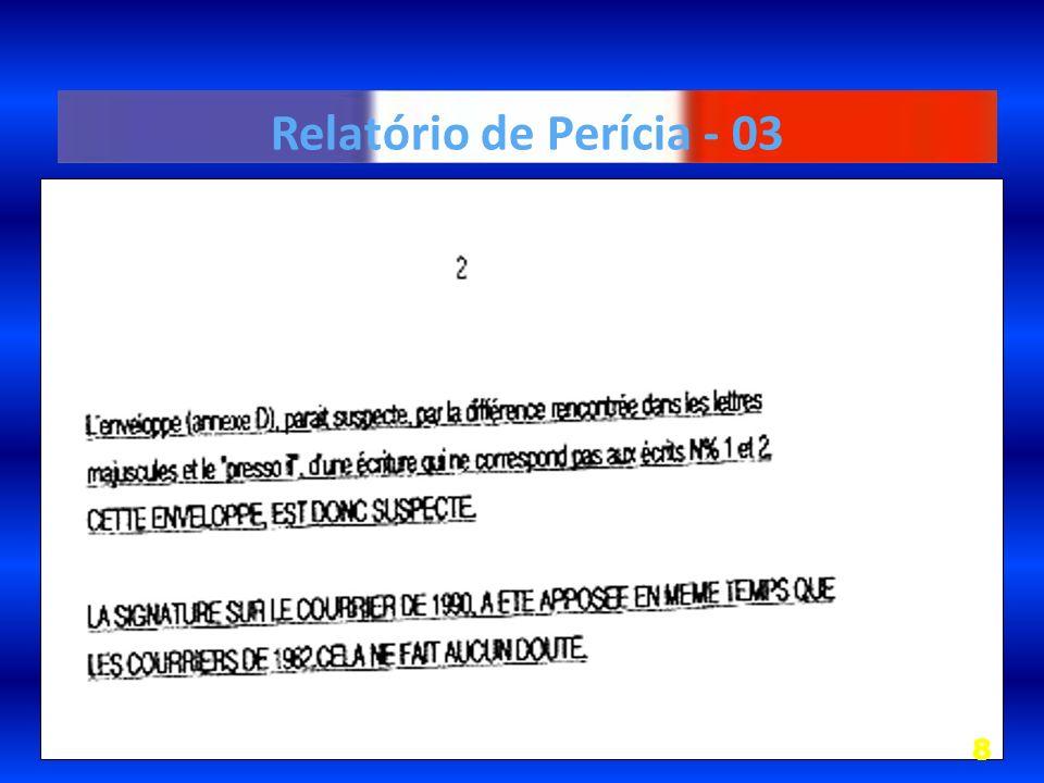 Relatório de Perícia - 03