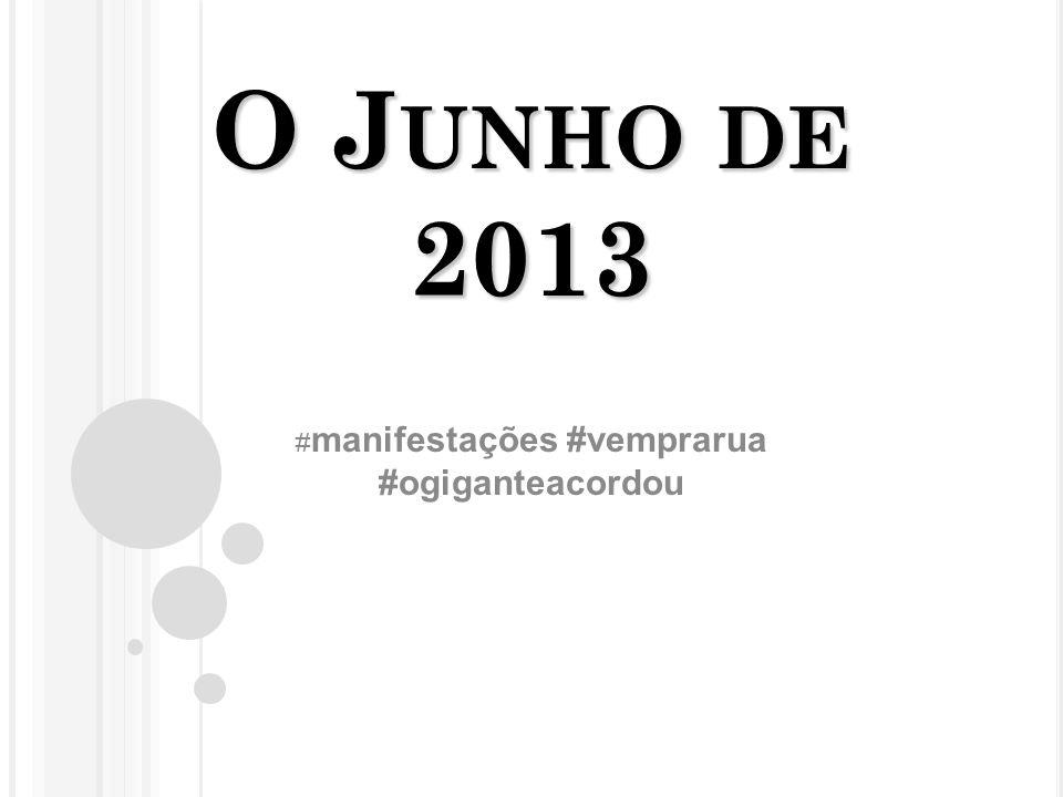 #manifestações #vemprarua #ogiganteacordou