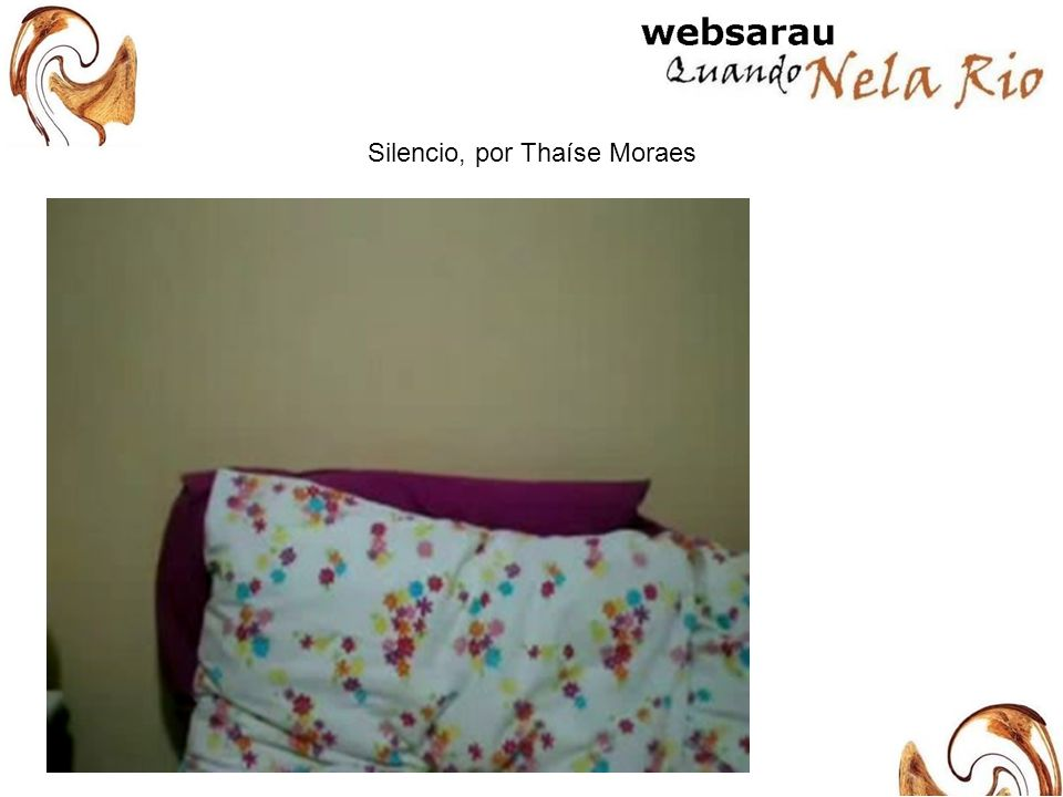 Silencio, por Thaíse Moraes