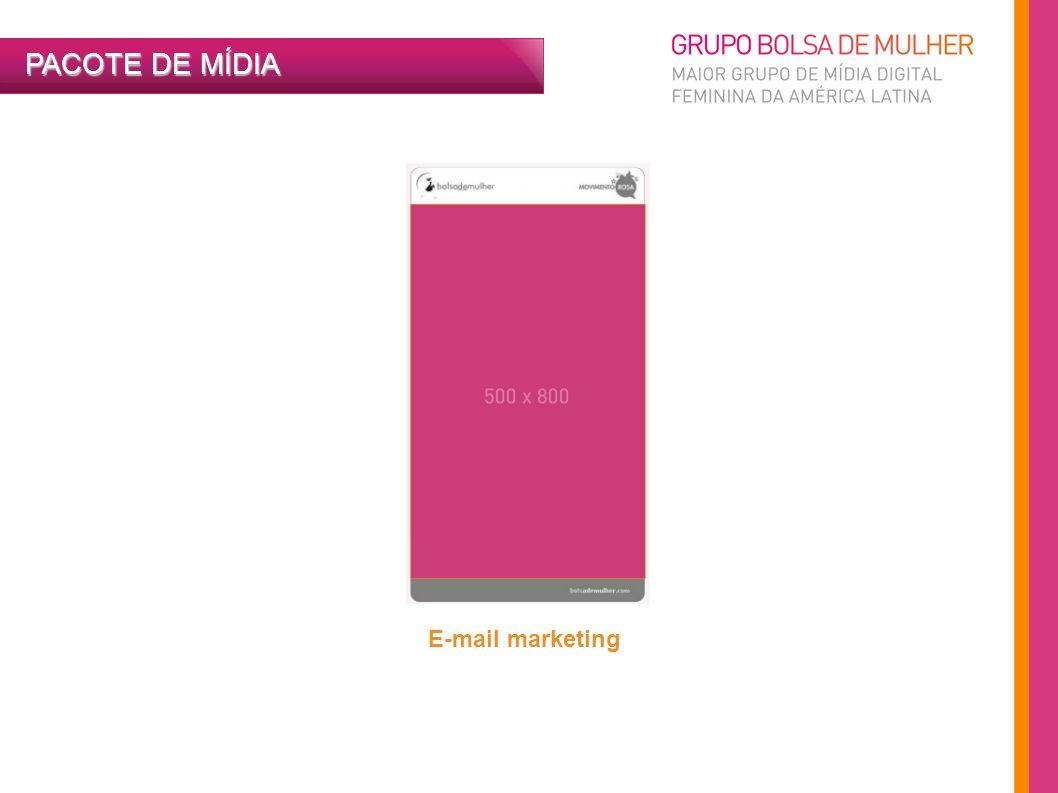PACOTE DE MÍDIA E-mail marketing