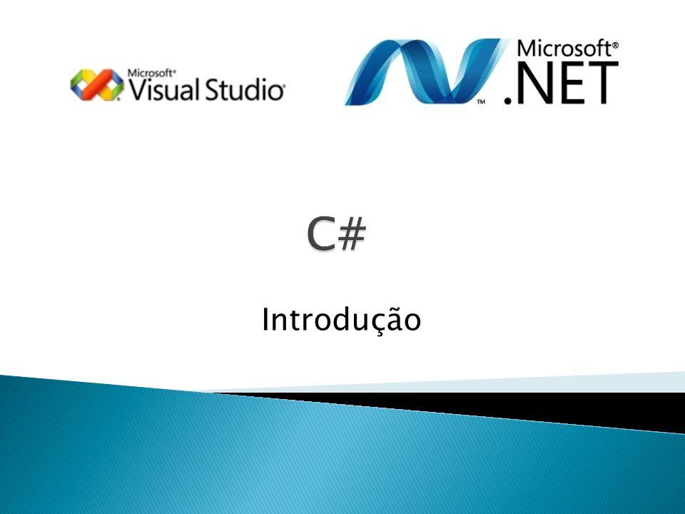 C# Introdução