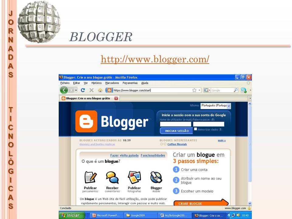 BLOGGER http://www.blogger.com/
