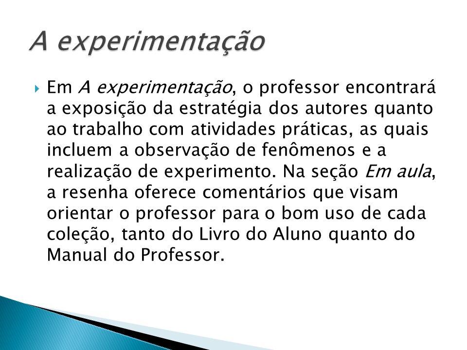 A experimentação