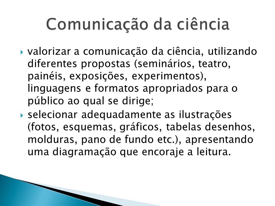 Comunicação da ciência