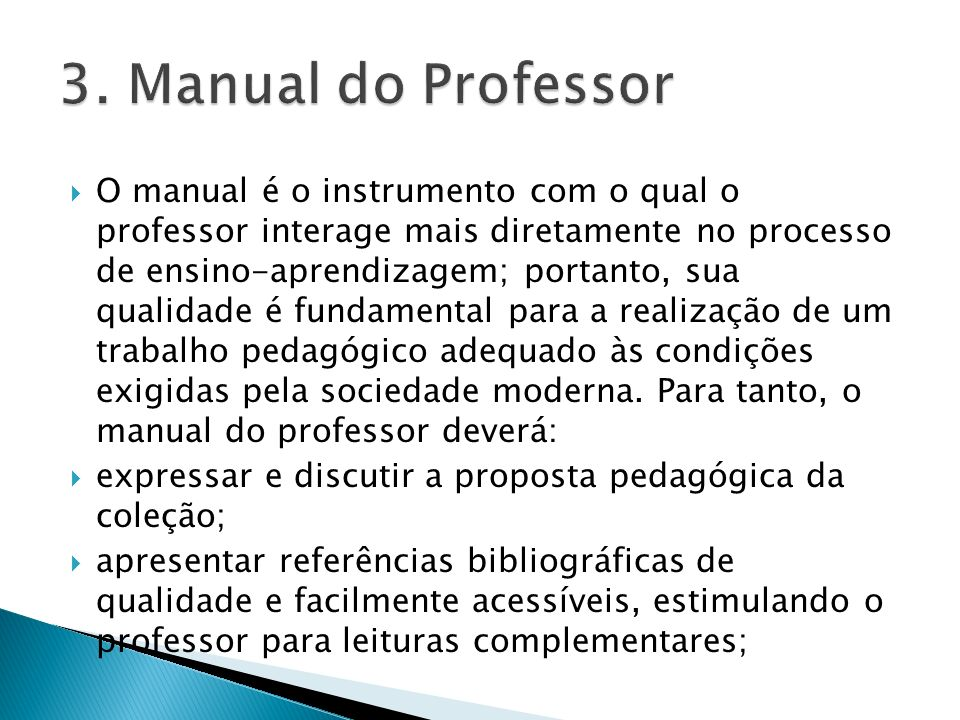 3. Manual do Professor
