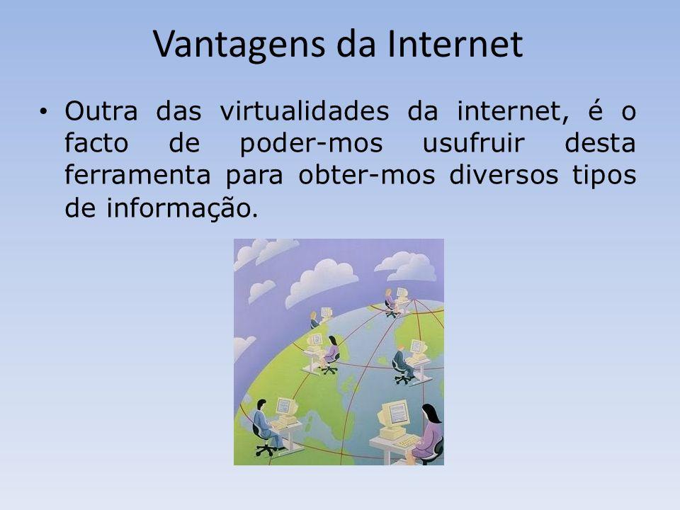 Vantagens da Internet