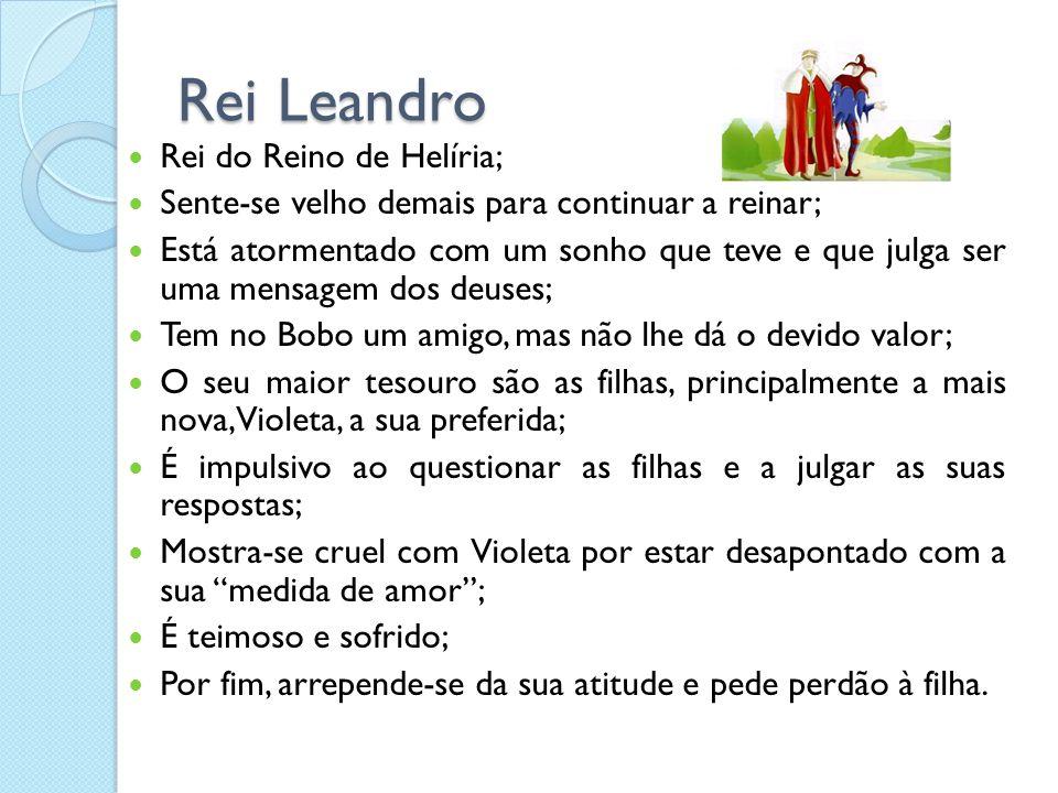 Rei Leandro Rei do Reino de Helíria;