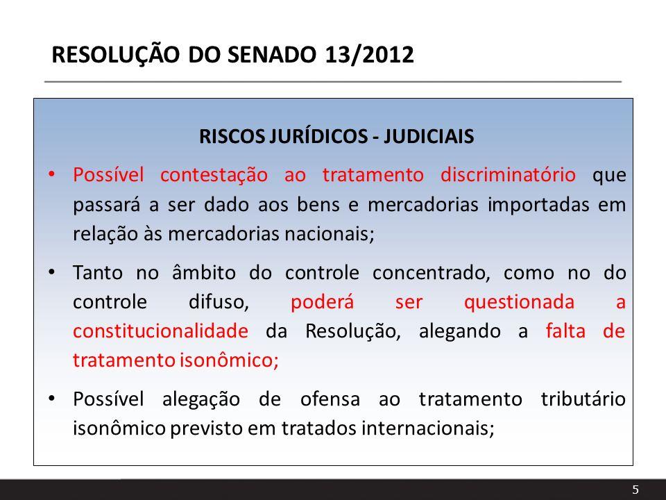 RISCOS JURÍDICOS - JUDICIAIS