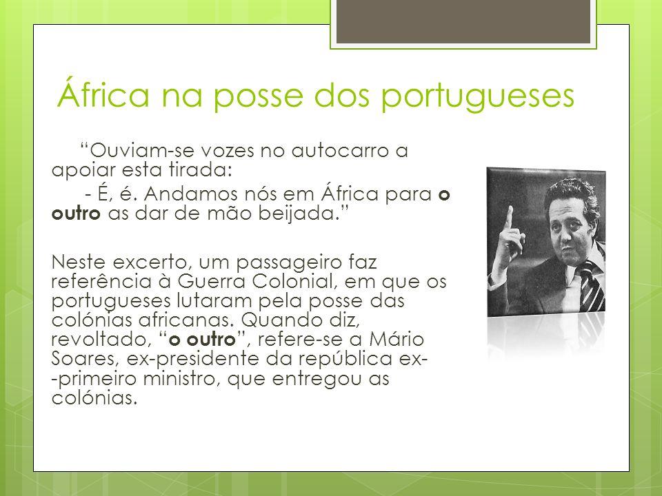 África na posse dos portugueses
