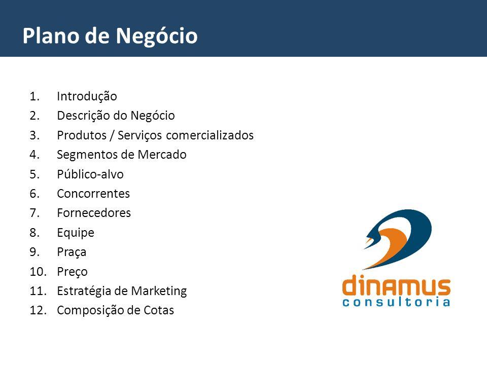 Plano de Negócio Introdução Descrição do Negócio
