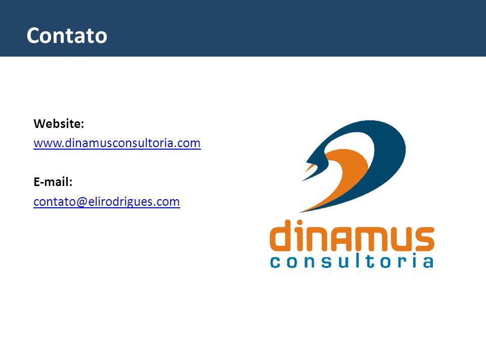 Contato Website: www.dinamusconsultoria.com E-mail: