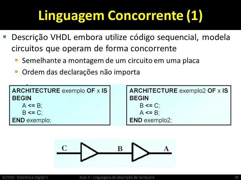Linguagem Concorrente (1)