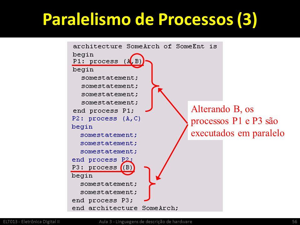 Paralelismo de Processos (3)