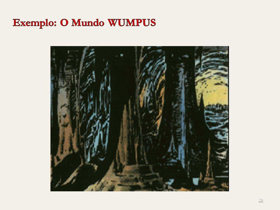 Exemplo: O Mundo WUMPUS