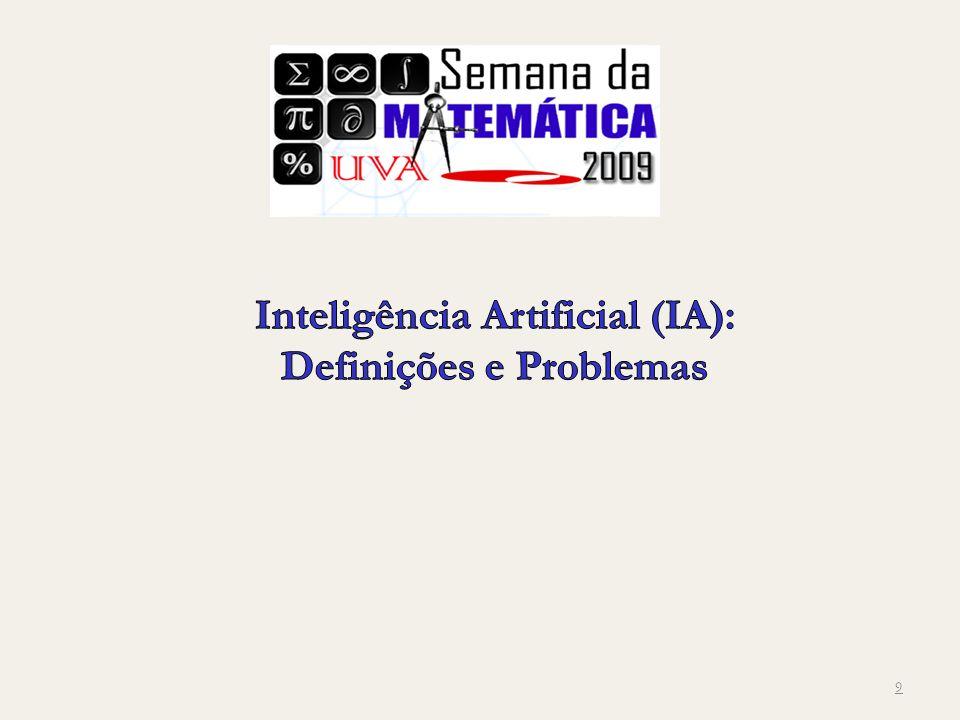 Inteligência Artificial (IA): Definições e Problemas