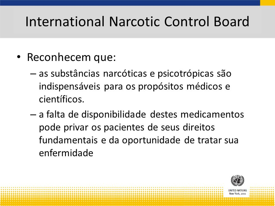International Narcotic Control Board