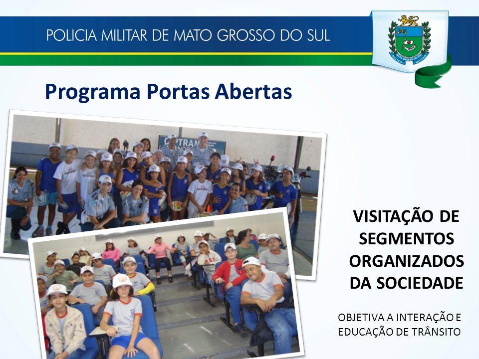 VISITAÇÃO DE SEGMENTOS ORGANIZADOS DA SOCIEDADE