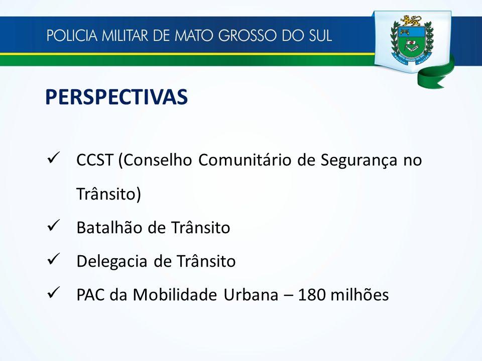 PERSPECTIVAS CCST (Conselho Comunitário de Segurança no Trânsito)