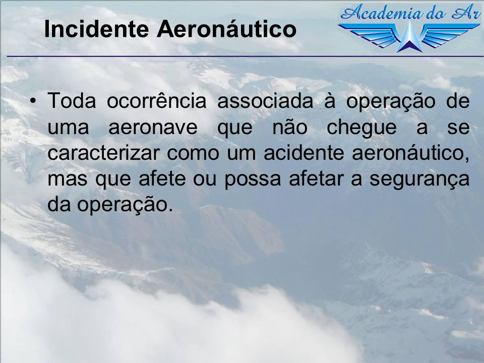 Incidente Aeronáutico