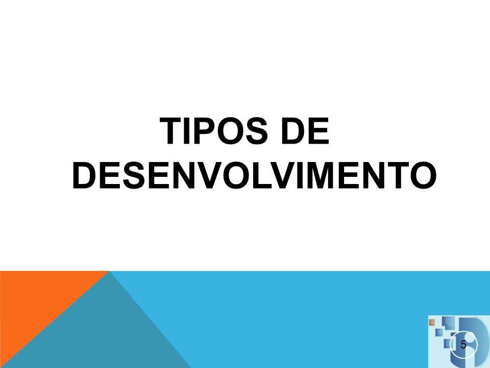 TIPOS DE DESENVOLVIMENTO
