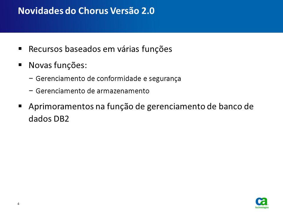 Novidades do Chorus Versão 2.0