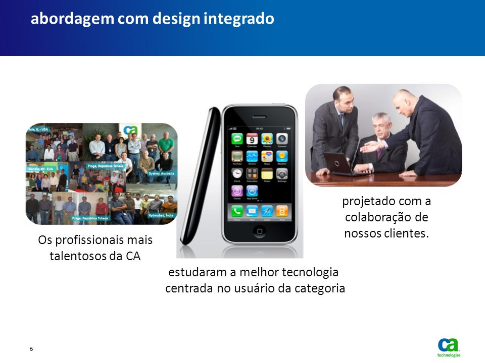 abordagem com design integrado