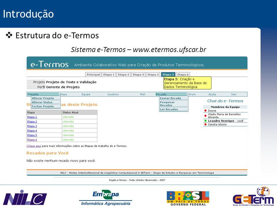Sistema e-Termos – www.etermos.ufscar.br