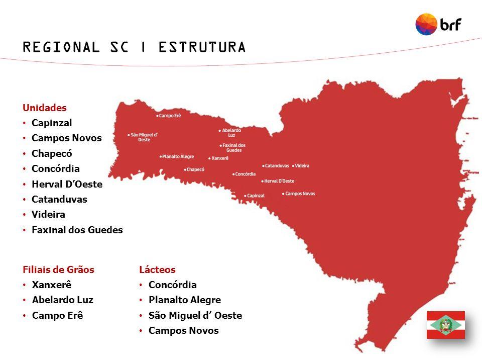 REGIONAL SC | ESTRUTURA