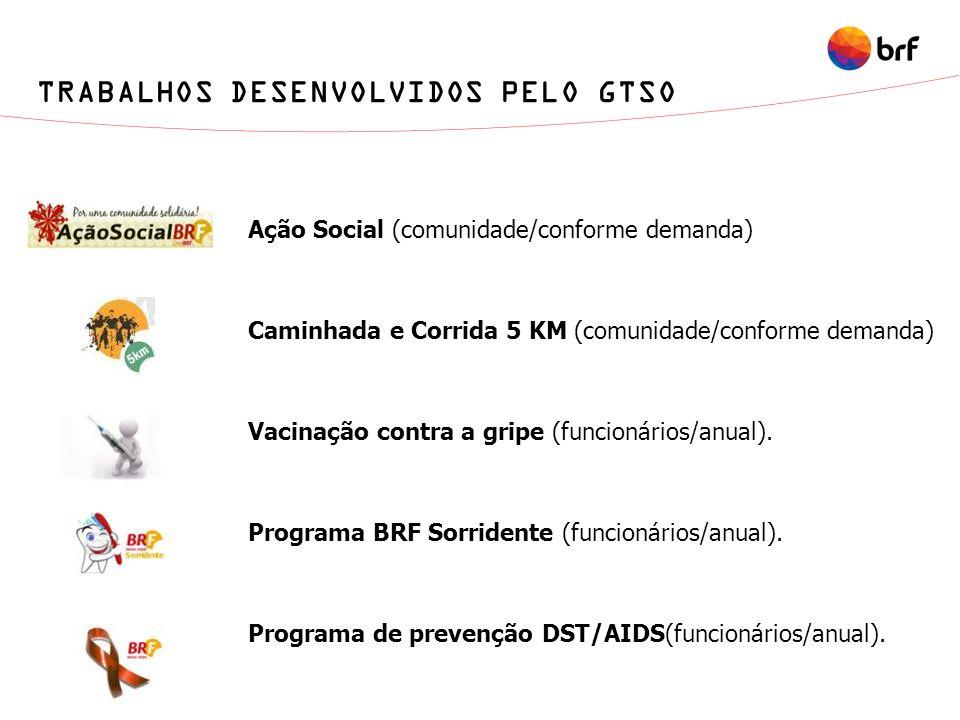 TRABALHOS DESENVOLVIDOS PELO GTSO
