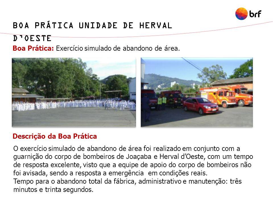 BOA PRÁTICA UNIDADE DE HERVAL D'OESTE