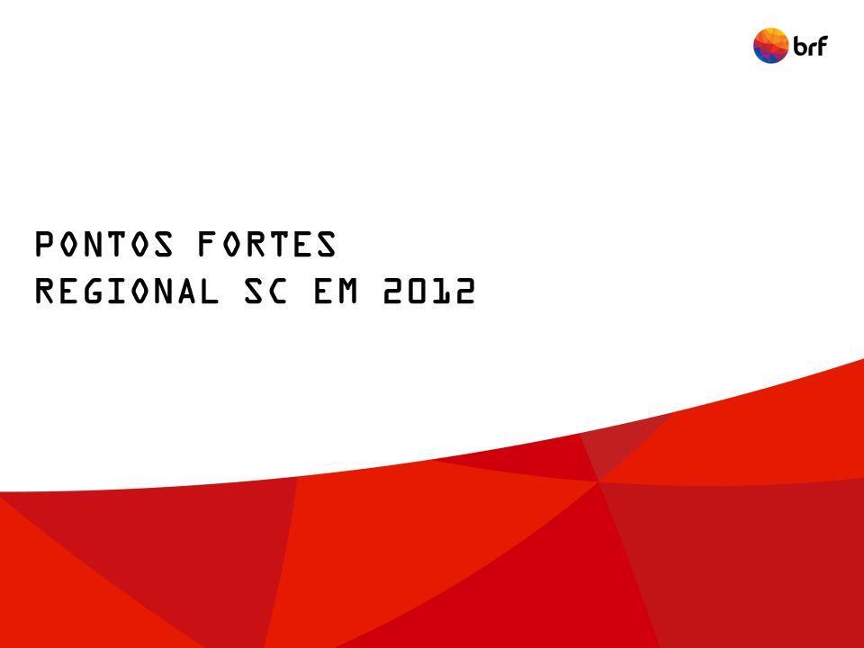 PONTOS FORTES REGIONAL SC EM 2012