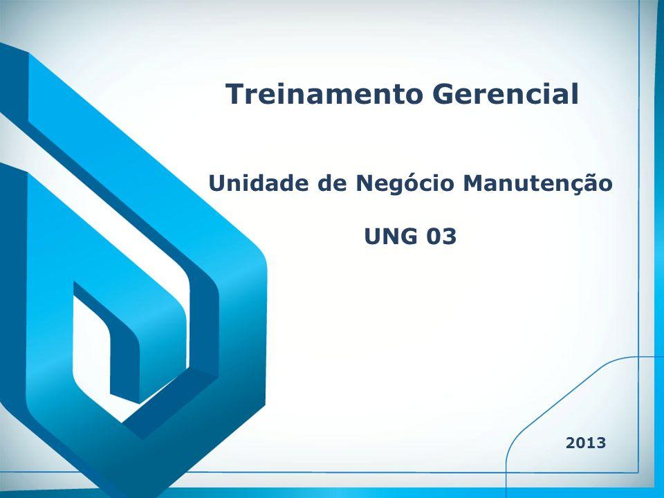 Treinamento Gerencial Unidade de Negócio Manutenção