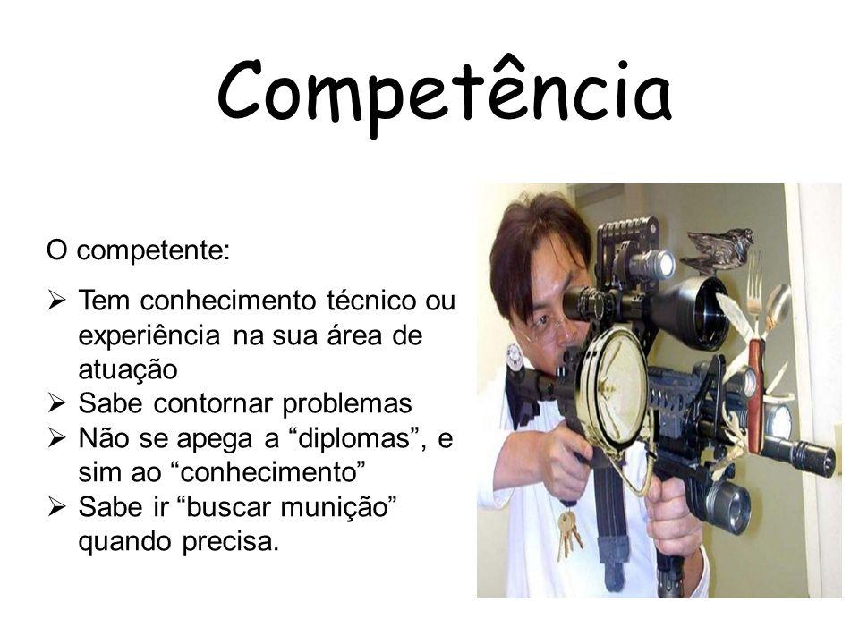 Competência O competente: